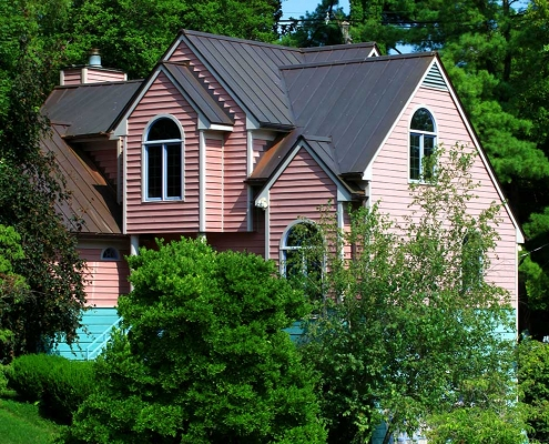 16 ounce standing seam copper roof in Louisville Kentucky