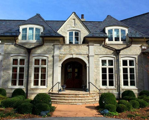 Greenstone slate roof in Kentucky