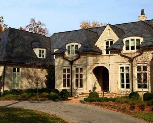 Greenstone Slate roof in Louisville Kentucky
