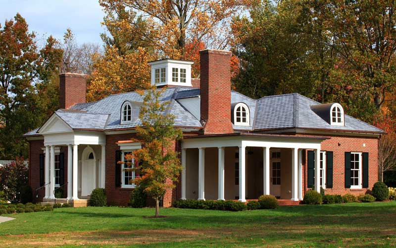 high-end dimensional shingles and all-copper flashing in Louisville Kentucky