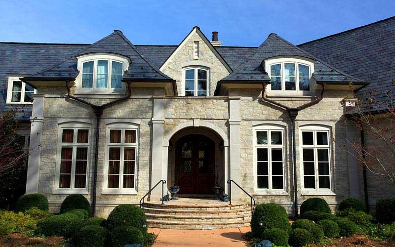 Greenstone Slate Roof replacement in Louisville Kentucky